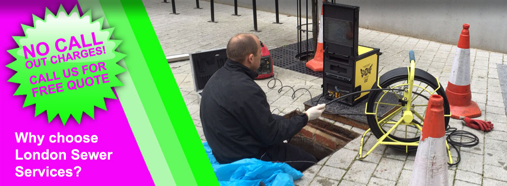 London Drainage Services: CCTV Drain Surveys & Inspections In London By London Sewer